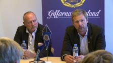 Presskonferensen efter GIF Sundsvall-DIF 2012