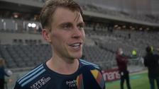 Intervjuer efter segern mot Östersund