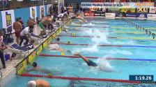34 4X50m Medley Herrar Sr Heat 2 SM/JSM 25m 2015