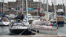Att segla till Orkney - med nio knops ström