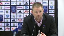 MP på presskonferensen efter IFK Göteborg-DIF 2012