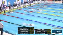 1 400m Frisim Herrar Heat A-final SM/JSM 25m 2015