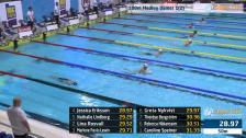 15 100m Medley Damer B-Final SM/JSM 25m 2015