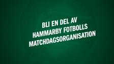 Vill du vara en del av Hammarby Fotbolls matchdagsorganisation?