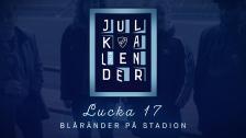 Kotschacks Julkalender lucka 17 - Blåränder på Stadion