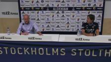 Presskonferensen efter Djurgården - BK Häcken