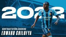 Edward Chilufya har förlängt sitt kontrakt