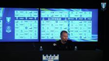Presskonferens efter MFF – IFK Göteborg
