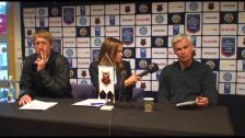 Presskonferens efter Hammarby - Östersunds FK
