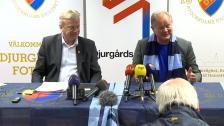 Presskonferens med Per-Mathias Högmo