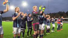Hampus Nilsson agerade vägg i debuten