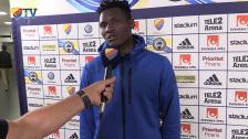 Tvåmålskytten Olunga prisar fansen