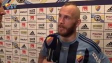 Magnus Eriksson gladdes inte åt spelet