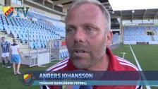 Anders Johansson riktigt nöjd efter segern.