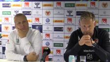 Se presskonferensen efter 2-2 mot Kalmar