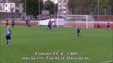 Målen mellan Forsby FF - BP Dam