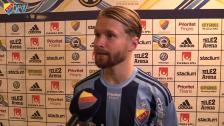 Jacob Une Larsson slog till med sitt första allsvenska mål för DIF
