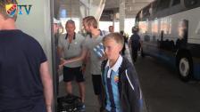 Linus vann en dag med Djurgården