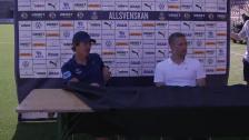 Presskonferensen efter Örebro borta