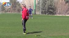 Pelle inför matchen mot FK Vardar Skopje