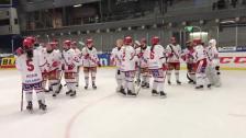 Jublet efter segern mot Linköping