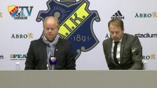 Pesskonferensen efter AIK-Djurgården