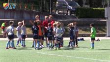 Ett besök på sommarfotbollskolan