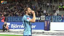 Segerfirande efter vinsten mot Örebro