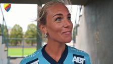 Petronella Ekroth: Det känns jättekul att vara tillbaka!