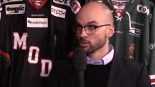 Intervju med Björn Edlund efter segern över Leksand