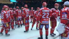 Direkt efter slutsignalen mellan MODO Hockey - BIK Karlskoga
