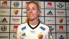 Jennifer Pelley om debuten mot Piteå