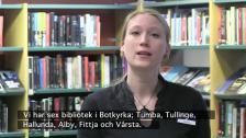 Hörförståelse för C-kurs (om Tumba bibliotek)