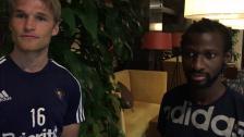 Basseoch Jawo målskyttar mot Odense