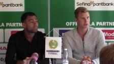 Khalili och Magyar presenteras - se hela presskonferensen