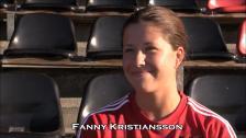 Fanny redo för seriedebut!