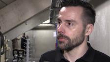 Intervju med Urban Omark efter vinst i semifinalen