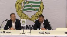 Presskonferens efter förlusten hemma mot Häcken