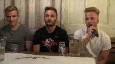 Presskonferensen med Sander, Muamer och Oscar