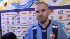 Marcus Danielsson besviken målskytt