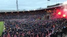 Hey Jude och fyrverkerier på Stockholms Stadion