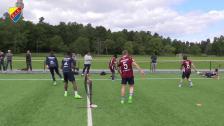 Fotbollstennis från Kaknäs