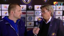 Pelle Olsson om matchen och sin egen spelarkarriär