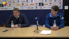 Presskonferensen efter Falkenberg borta