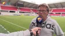 Pelle Olsson efter träningsmatchen mot Kalmar