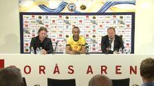 Presskonferens: Issam Jebali presenteras