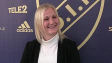Kathrine Østergaard Larsen klar för DIF