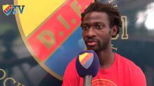 Amadou om Häcken, formen, femårskontraktet och Stenman