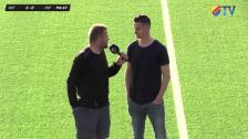 Mål och intervjuer efter Haris comeback