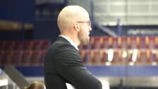 Björn Edlund efter vinsten i första kvartsfinalen mot Leksand